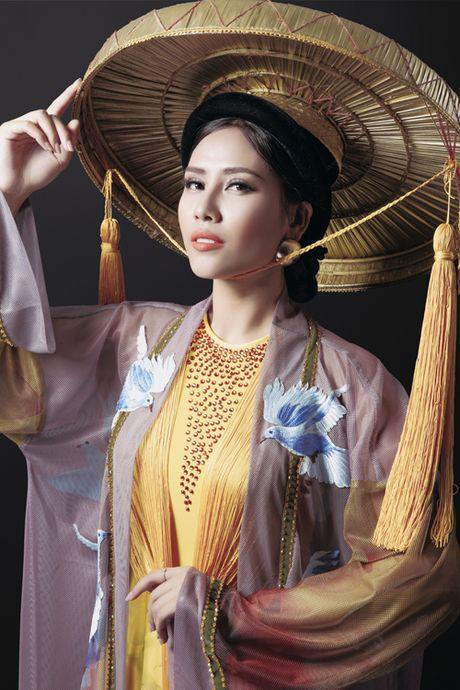 Nguyen Thi Loan khoe trang phuc dan toc la mat tai Miss Grand 2016 - Anh 4