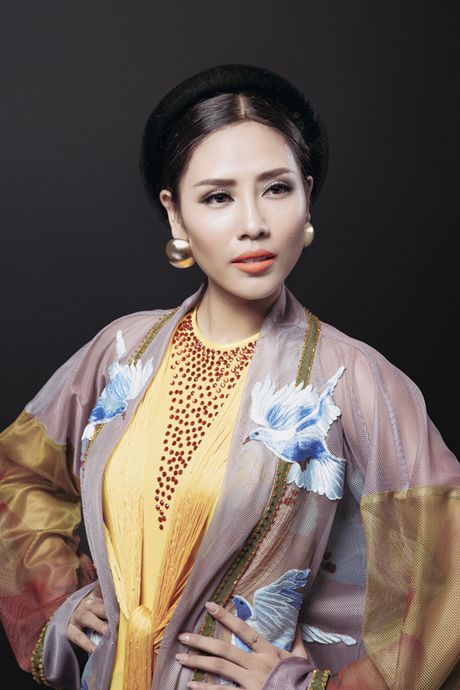 Nguyen Thi Loan khoe trang phuc dan toc la mat tai Miss Grand 2016 - Anh 6