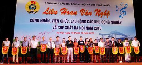 Lien hoan van nghe trong cong nhan vien chuc lao dong cac KCN-CX nam 2016 - Anh 1