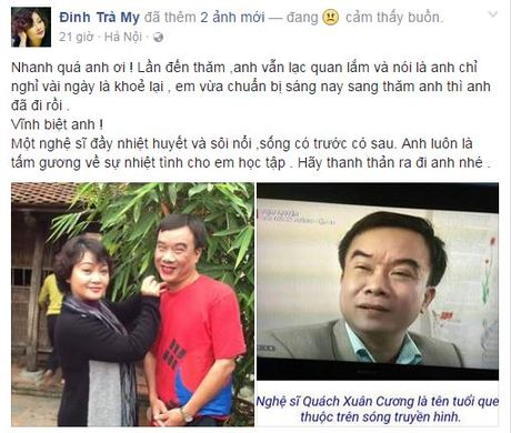 Them mot nghe si Viet qua doi vi can benh ung thu - Anh 3