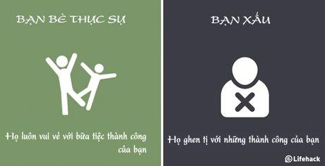 Cach nhan biet nguoi ban xau o canh ban du ho co to ra than thiet - Anh 2
