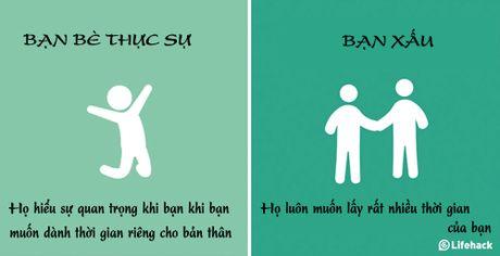 Cach nhan biet nguoi ban xau o canh ban du ho co to ra than thiet - Anh 3