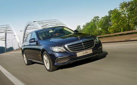 Mercedes E-Class moi gia tu 2,1 ty dong - Anh 12