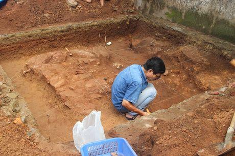 Cac nha khao co tim thay gi tai khu vuc nghi dau tich lang mo vua Quang Trung - Anh 2