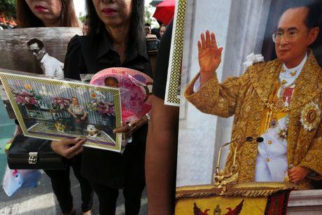 Nguoi Thai xep hang dai o cung dien de vieng nha vua - Anh 6