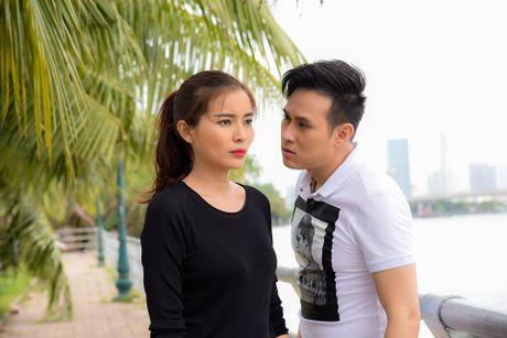 Cao Thai Ha cap voi Khuong Thinh trong 'Tinh thu hai mat' - Anh 1