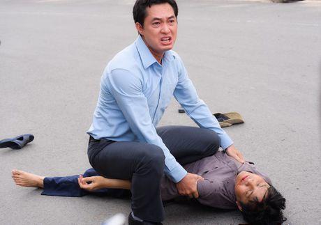 Cao Thai Ha cap voi Khuong Thinh trong 'Tinh thu hai mat' - Anh 4