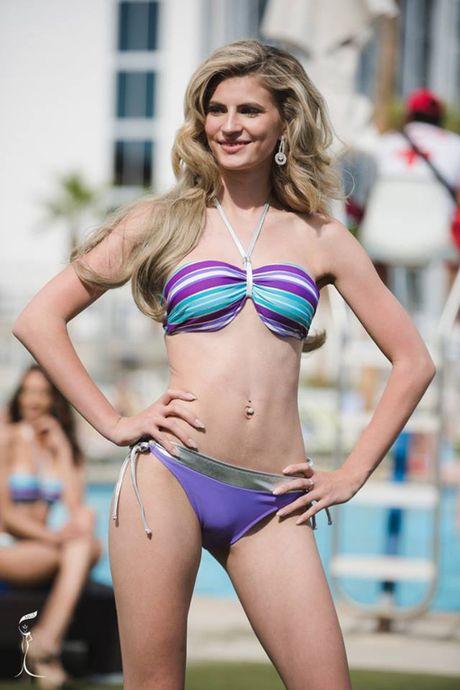 Nong bong phan thi bikini cua Nguyen Thi Loan tai 'Hoa hau Hoa binh The gioi' - Anh 13