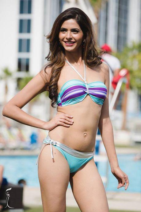Nong bong phan thi bikini cua Nguyen Thi Loan tai 'Hoa hau Hoa binh The gioi' - Anh 20