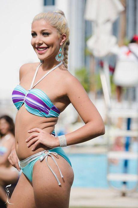 Nong bong phan thi bikini cua Nguyen Thi Loan tai 'Hoa hau Hoa binh The gioi' - Anh 22