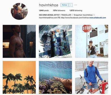 Instagram cua Ho Vinh Khoa tiep tuc khoe bo phan nhay cam va ngay cang 'bao' hon xua - Anh 2