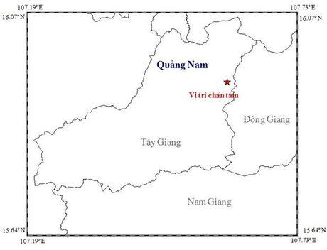 Xay ra dong dat 3,4 do richter kem nhieu tieng no lon o Quang Nam - Anh 1