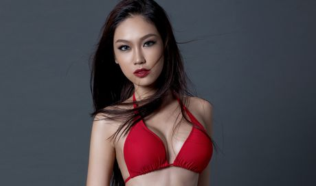 A khoi Phuong Linh cuon hut voi bikini - Anh 4