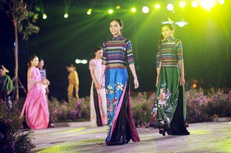 Dem ton vinh ta ao dai Viet Nam tai Hoang thanh Thang Long - Anh 10