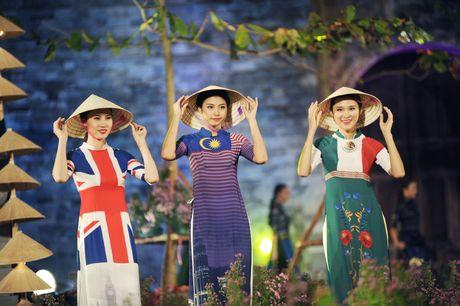 Dem ton vinh ta ao dai Viet Nam tai Hoang thanh Thang Long - Anh 9