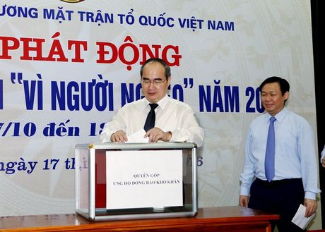 Chinh thuc phat dong thang cao diem ''Vi nguoi ngheo'' nam 2016 - Anh 2