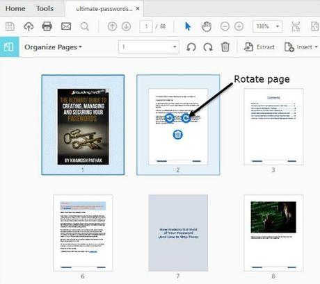 Cach sap xep va giai nen nhanh trang PDF - Anh 2