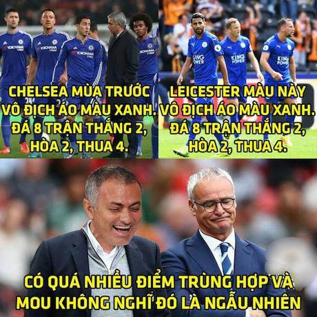 Anh che: Mourinho cuoi tren noi dau cua HLV Ranieri; Cong Phuong - Tuan Anh am 'giai khung' o J-League 2 - Anh 1