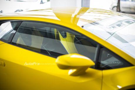 Can canh Lamborghini Huracan LP580-2 thu hai chuan bi cho VIMS 2016 - Anh 15