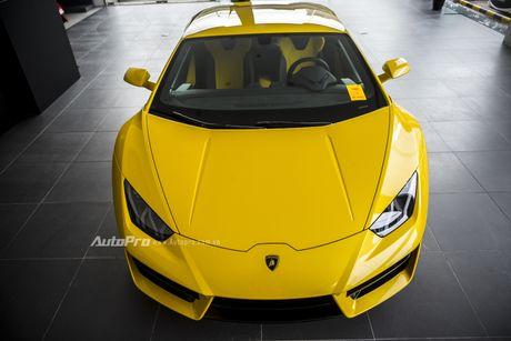 Can canh Lamborghini Huracan LP580-2 thu hai chuan bi cho VIMS 2016 - Anh 5