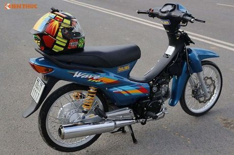 Dan choi mien Tay do Honda Wave 110 Thai 'sieu chat' - Anh 7