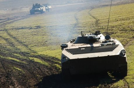 An ninh Ukraine phat dong tan cong phia nam Donetsk - Anh 1