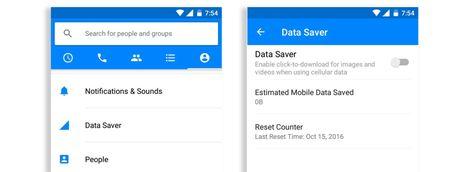 Facebook Messenger dang thu nghiem chuc nang tiet kiem 3G tren Android - Anh 1