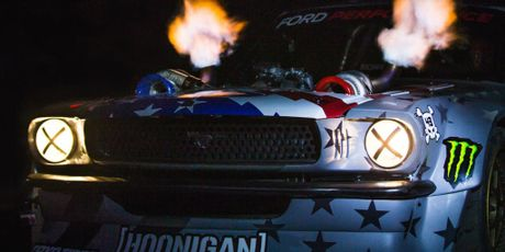Ford Mustang 1965 do 1400 ma luc cua Ken Block - Anh 3