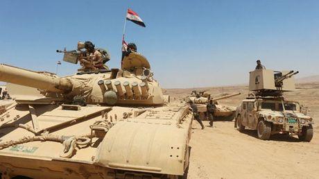 Iraq bat dau chien dich giai phong Mosul - Anh 1
