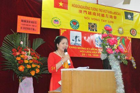 Cong dong nguoi Viet tai Macau mung Ngay Phu nu Viet Nam - Anh 1