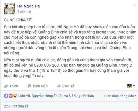 Tu 500 trieu, MC Phan Anh da huy dong duoc hon 2 ty cho dong bao mien Trung - Anh 3