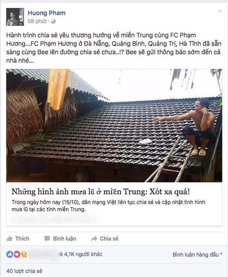 Tu 500 trieu, MC Phan Anh da huy dong duoc hon 2 ty cho dong bao mien Trung - Anh 4