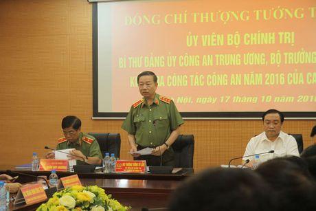 Bo truong To Lam kiem tra cong tac tren dia ban Thu do - Anh 1
