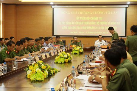 Bo truong To Lam kiem tra cong tac tren dia ban Thu do - Anh 3