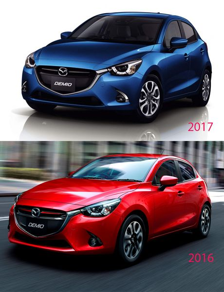 Khong con say xe voi Mazda 2 va CX-3 ban moi sap ra mat - Anh 2