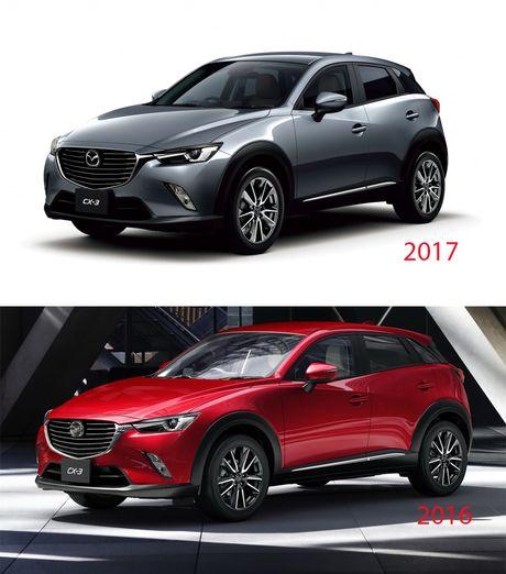 Khong con say xe voi Mazda 2 va CX-3 ban moi sap ra mat - Anh 3