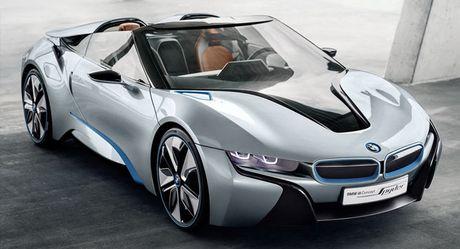BMW se ra mat phien ban mui tran cua sieu xe i8 - Anh 1