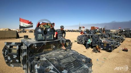 Thu tuong Iraq: Chien dich tai chiem Mosul da bat dau - Anh 1