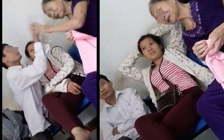 Phan no canh con trai dua me di benh vien, hon lao chui me : 'Sao ba khong chet di' - Anh 1