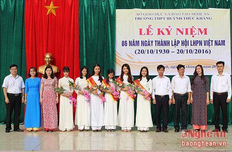 Tim ra 6 nu sinh xinh dep nhat Truong Huynh Thuc Khang - Anh 10