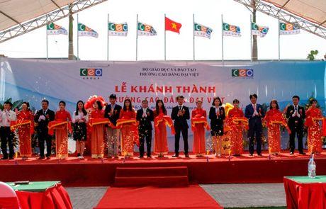 CEO Group khanh thanh truong Cao dang Dai Viet - Anh 1