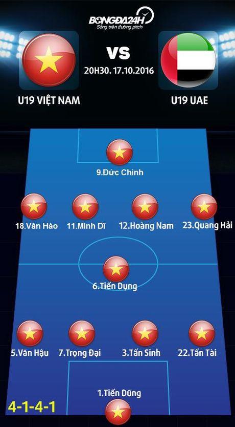 U19 Viet Nam vs U19 UAE (20h30 17/10): Nga re lich su - Anh 3