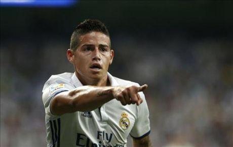 Real Madrid don tin vui tu James Rodriguez - Anh 1