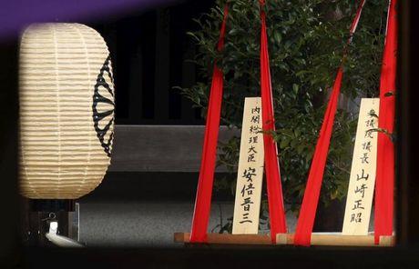 Thu tuong Shinzo Abe gui le vat den den Yasukuni - Anh 2