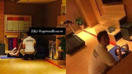 Fan cuong lap camera quay trom cac thanh vien EXO - Anh 1