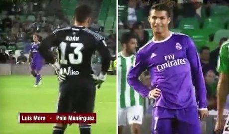 Ghi ban xong, Ronaldo thanh thoi dung 'choc que' doi thu - Anh 1