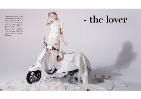 An tuong bo anh cua Lam Thuy Nhan trong Vespa Top Stylist Contest - Anh 5