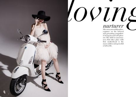 An tuong bo anh cua Lam Thuy Nhan trong Vespa Top Stylist Contest - Anh 6