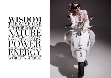 An tuong bo anh cua Lam Thuy Nhan trong Vespa Top Stylist Contest - Anh 8