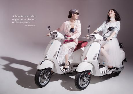 An tuong bo anh cua Lam Thuy Nhan trong Vespa Top Stylist Contest - Anh 9
